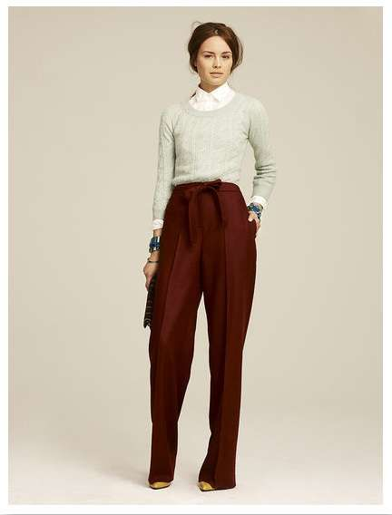 Great Gatsby Fashion - The J.Crew Fall 2011 Collection is Also Inspired by Bonnie and Clyde (GALLERY)