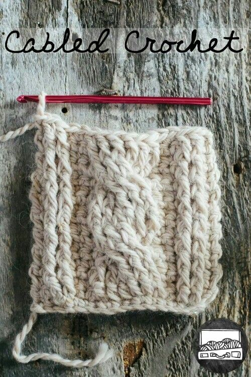 Cabled Crochet | Haken und Kabel