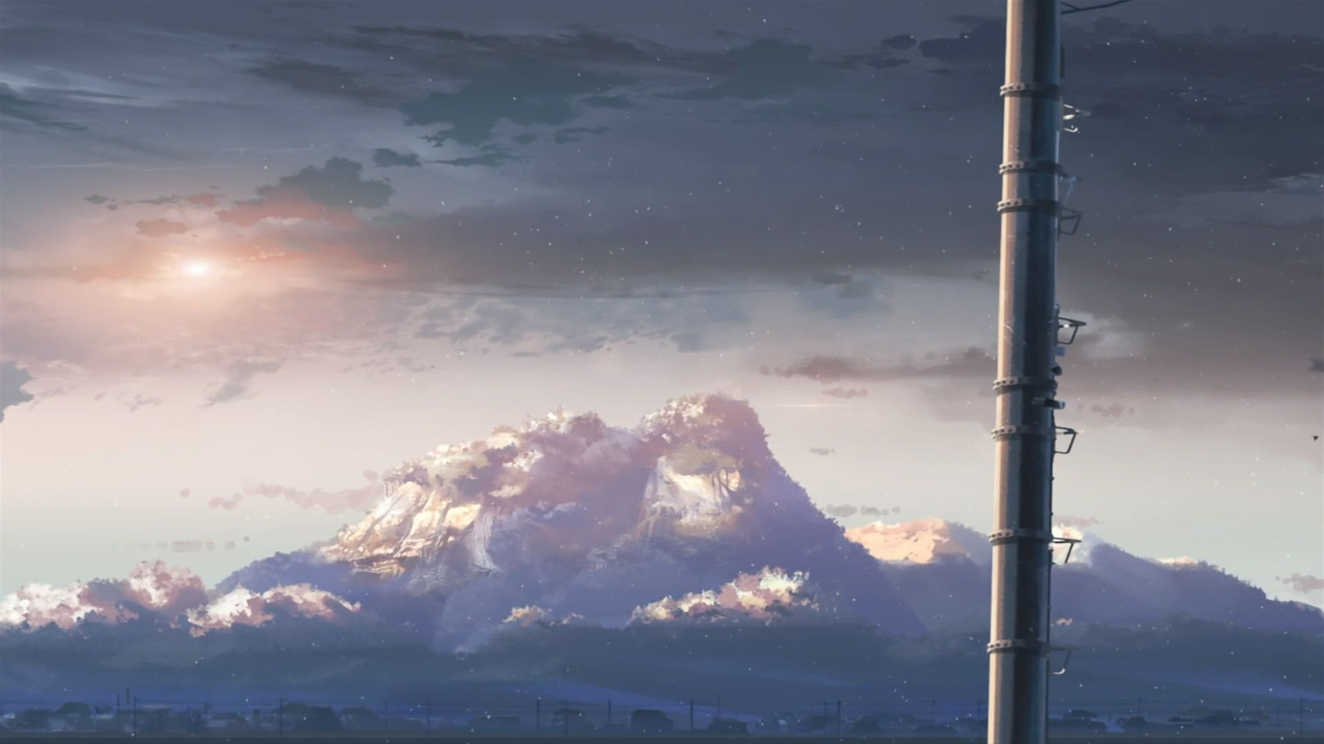 Anime background, Makoto shinkai movies
