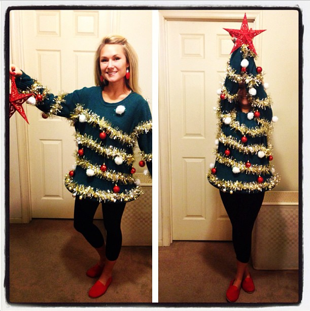 Ordinary Tacky Christmas Sweater Party Ideas Part - 3: 28 Ugly Christmas Sweater Party Ideas