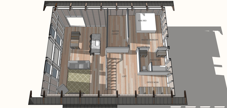 Simple House Plan Episode 1 Ana White House Plan With Loft Simple House Plans Simple House