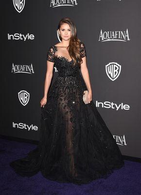 Nina Dobrev Photos Photos: InStyle And Warner Bros. Golden Globes Party — Part 2
