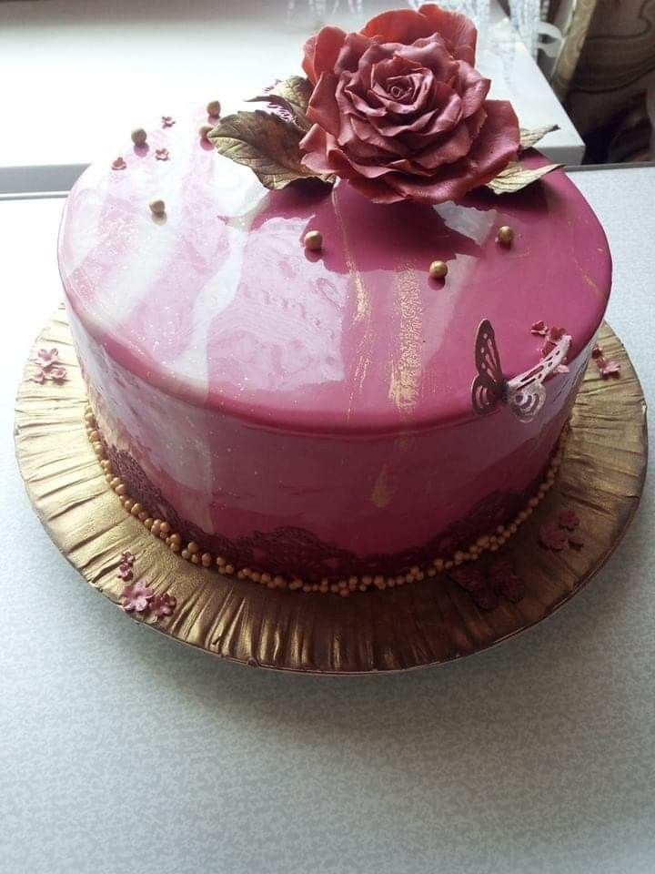 Pin by Ковалёва Татьяна on мои работы | Desserts, Cake ...