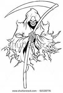 Demonic Grim Reaper Drawings Bing Images With Images Reaper