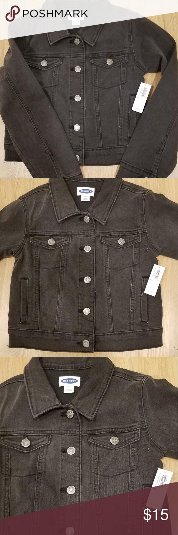Old Navy Girls Black Jean Jacket Girls Black Jeans Black Jean Jacket Jean Jacket Outfits [ 1740 x 580 Pixel ]