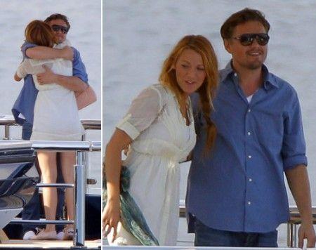 Blake Lively Leonardo Di Caprio Dicaprio Pictures Pinterest