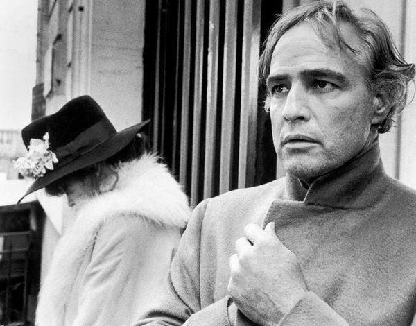 Maria Schneider and Marlon Brando in Last Tango in Paris ...