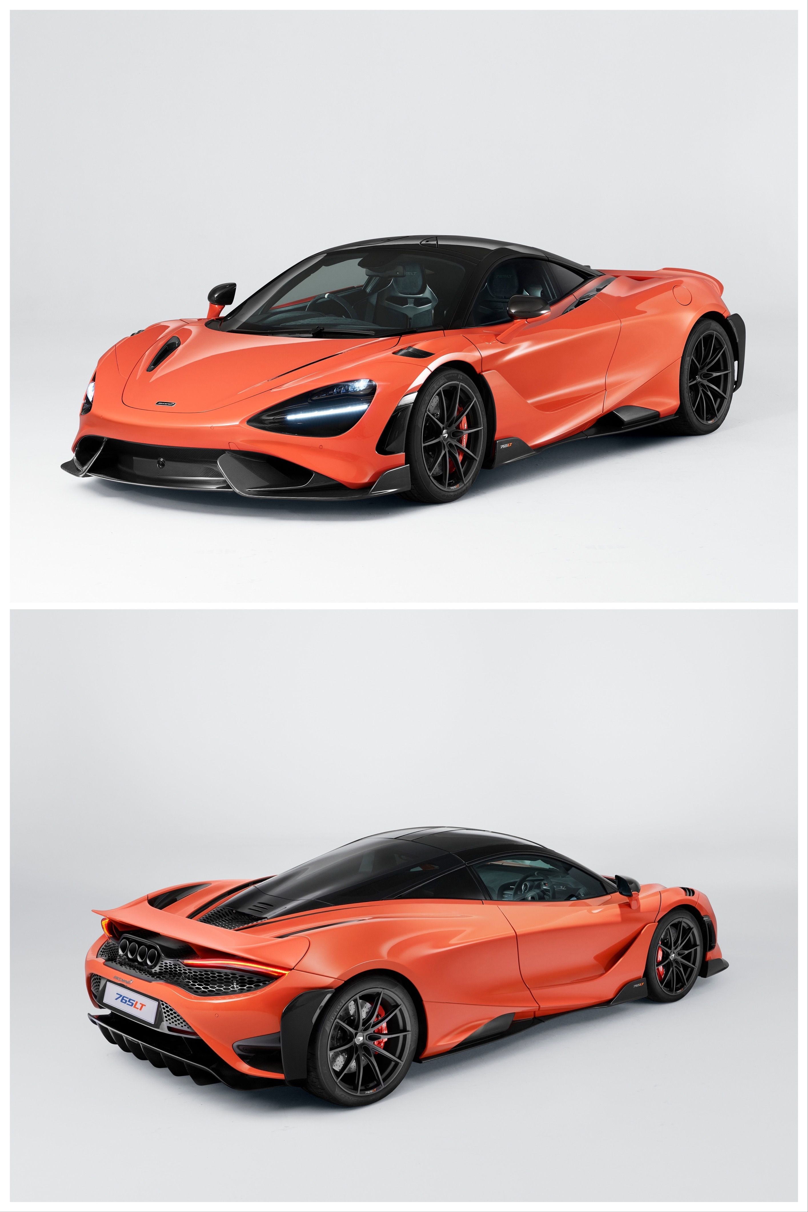 New 2021 Mclaren 765lt Arrives With 755 Hp Less Weight And 0 60 In 2 7 Seconds Mclaren Car Collection Super Luxury Cars