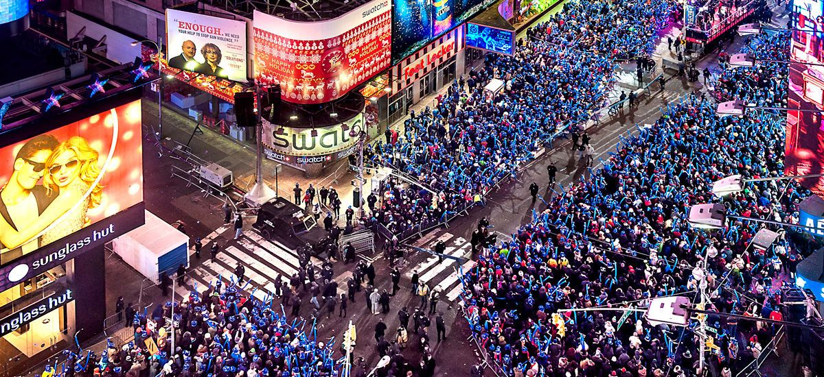 Nyc S Times Square New Year S Eve Parties New York Marriott