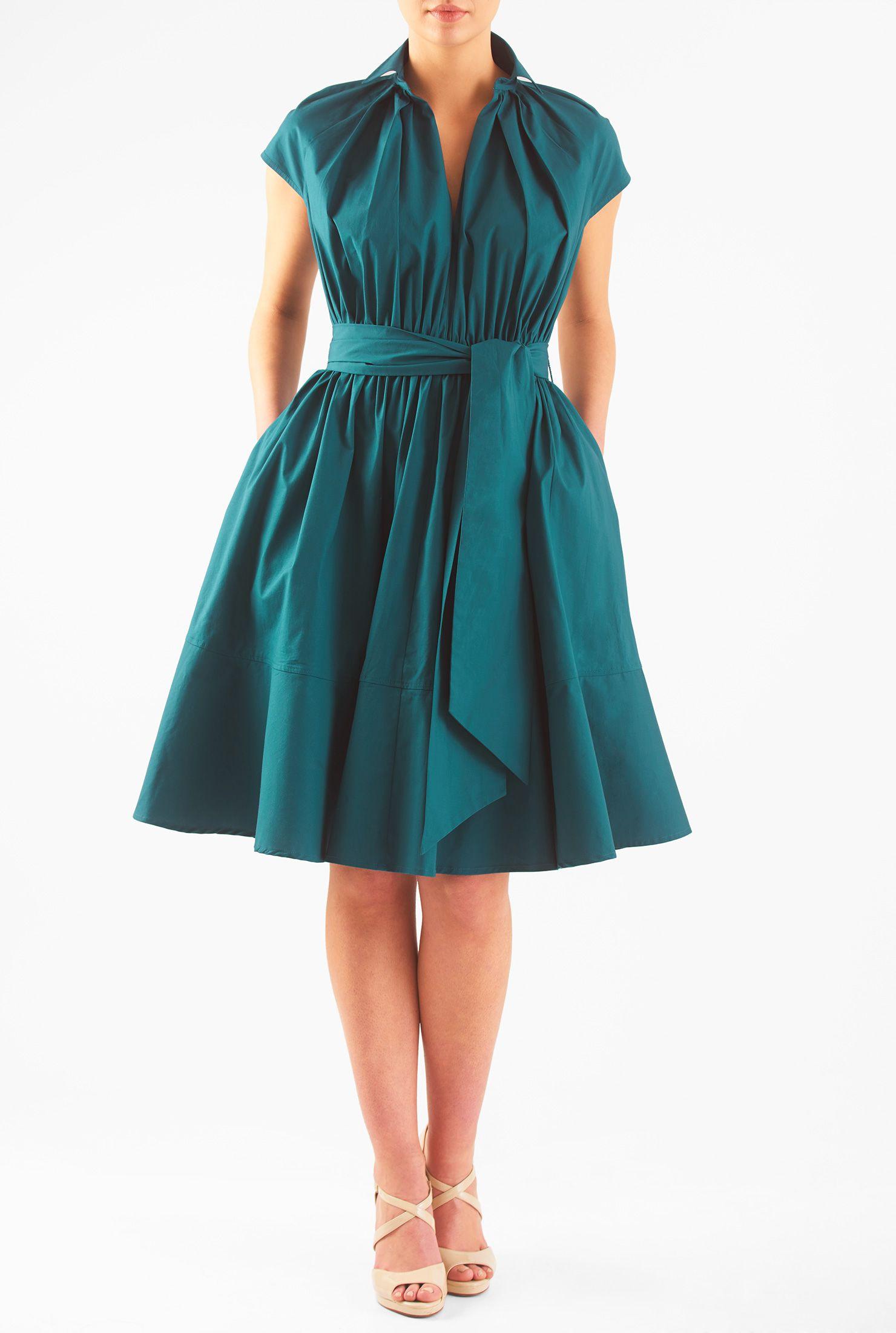 Aline dresses below kneelength dresses boatneck dresses