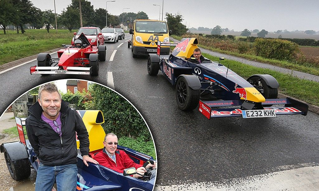 The ultimate Essex boy racers Pair turn heads with