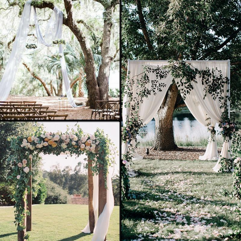 Outdoor Wedding Ceremony Orlando: Outdoor Wedding, Garden Inspired