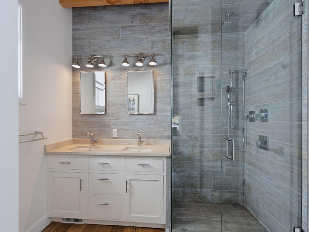 Wood Look Tile Bathroom WB Designs | Caves | Pinterest | Woods