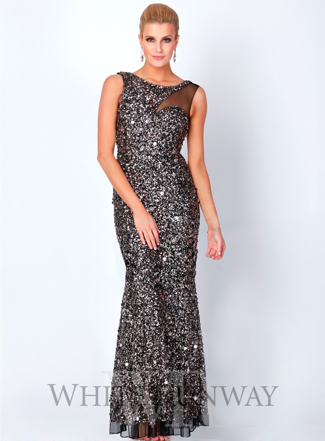 Bridie Sequin Dress. Stunning full length gown by Australian ...