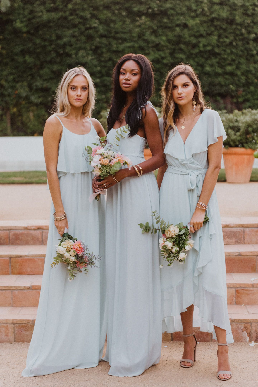 Show Me Your Mumu Mumu Weddings Spring Bridal 2020 In 2020 Bridesmaid Latest Bridesmaid Dresses Boho Style Wedding