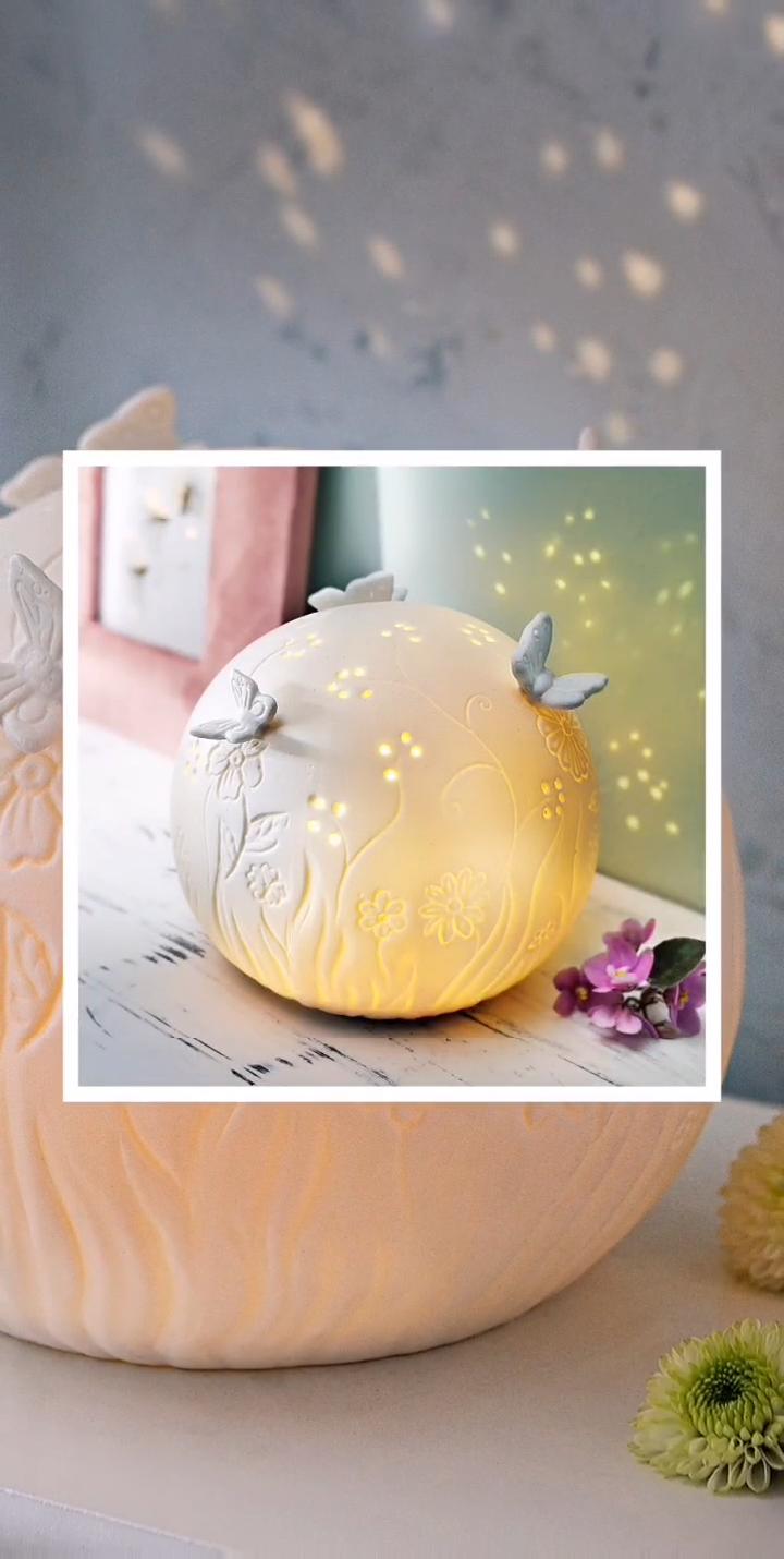 "Photo of LED ceramic ball ""Primavera"""
