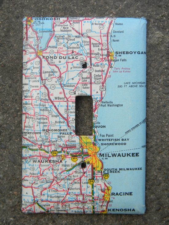Milwaukee oshkosh racine wisconsin road map by creativeordinary milwaukee oshkosh racine wisconsin road map by creativeordinary solutioingenieria Image collections