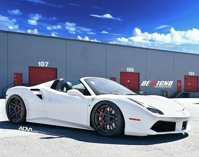 Four Eighty Eight Ferrari 488 Gtb Designoautohouse Wheel