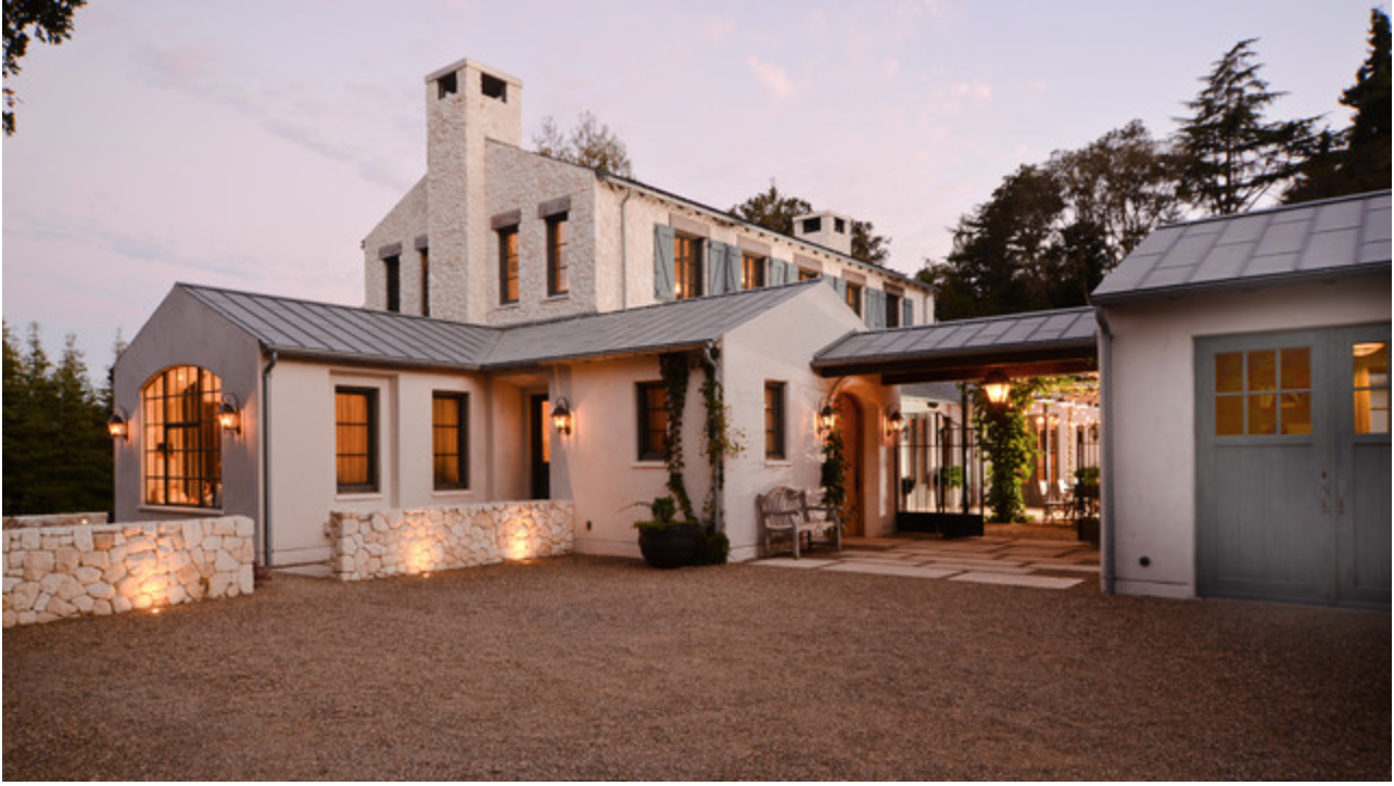 Modern French Farmhouse Exterior Woodbridge Estate Sf Outdoor Inspiration Pinterest Home