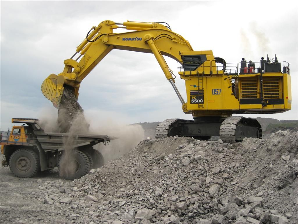 PC5500 | Komatsu Mining Germany | Heavy Construction | Heavy