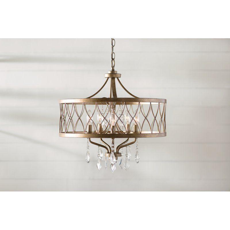 Cece 5 light drum chandelier farmhouse chandelierdrum chandelierchandeliersbirch lanebathroom