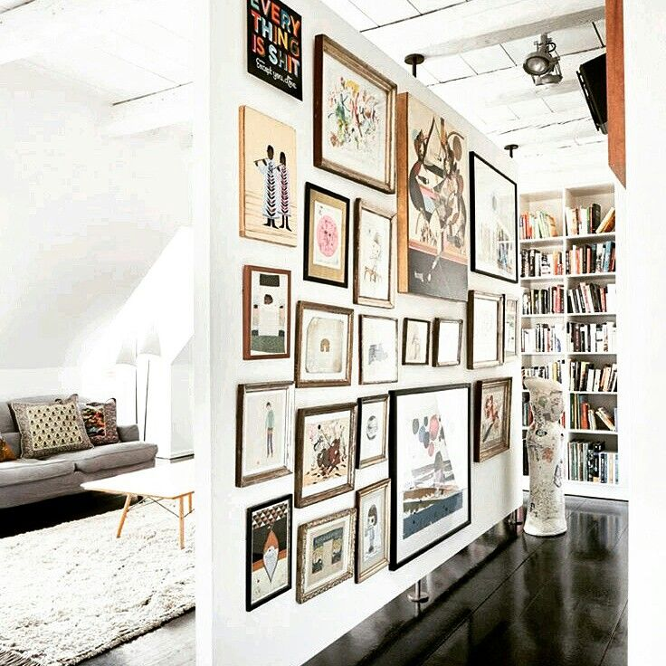 Gorgeous salon hang. .can\'t get enough of this style. @a1_frames ...