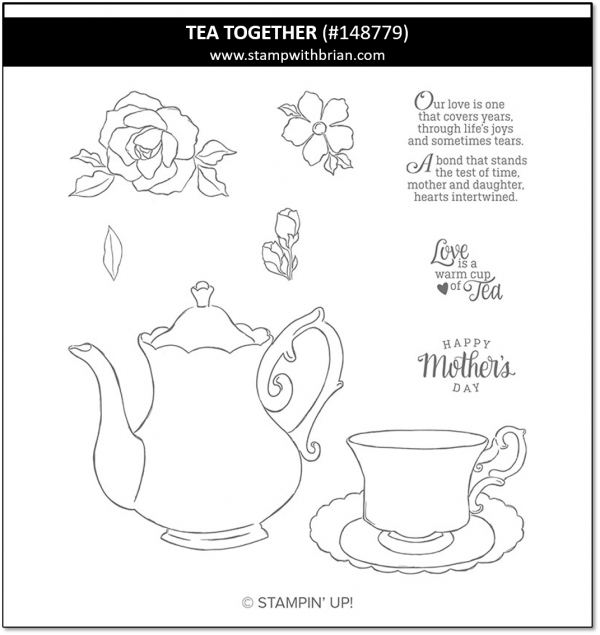 003 Tea Together, Stampin' Up! 148779 Stampin' Up! Products
