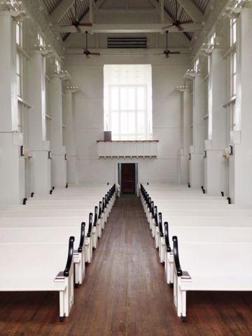 Inside The Seaside Wedding Chapel