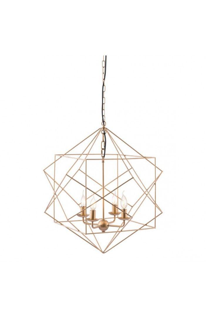 Penta Ceiling Lamp Gold   Havenly