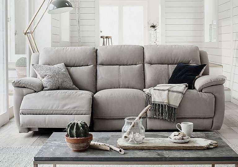 Stupendous Touch 3 Seater Fabric Recliner Sofa Recliner Frankydiablos Diy Chair Ideas Frankydiabloscom