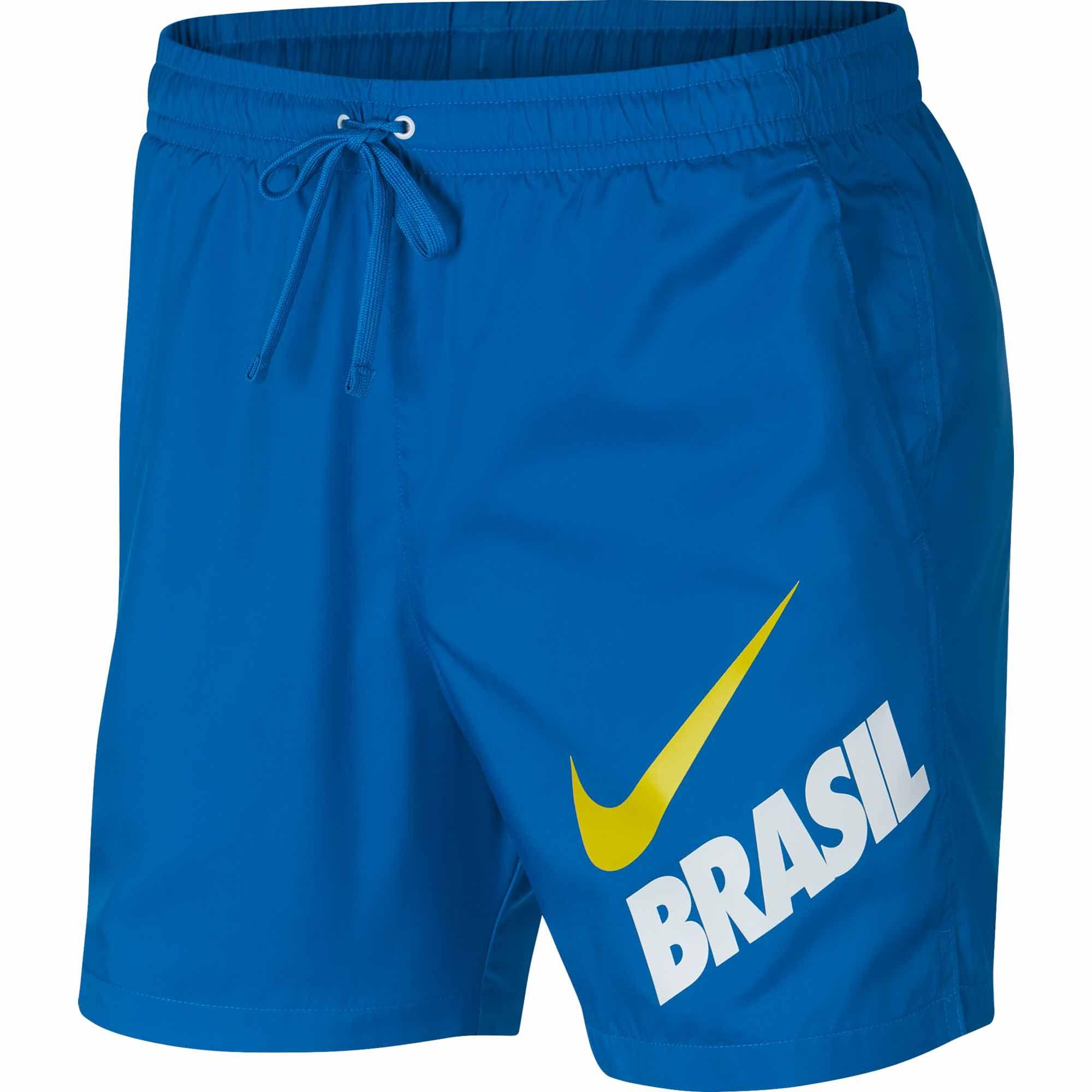 moderadamente Desobediencia Emperador  Nike Brazil Woven Flow Shorts - Soar/White - SoccerPro | Soccer shorts, Nike  men, Low crotch pants