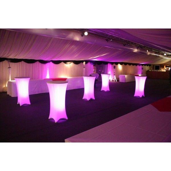 Wedding Decor Cocktail Table Lighting
