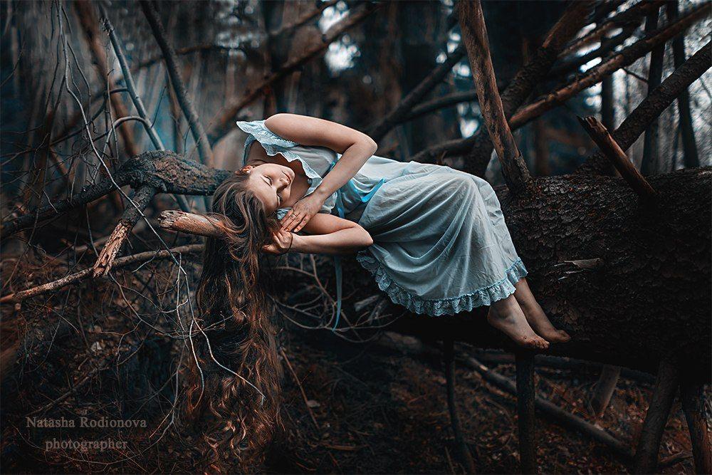 Фетиш в лесу