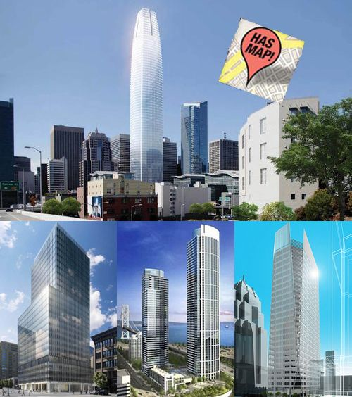 26 High-Rise Projects Changing San Francisco's Skyline