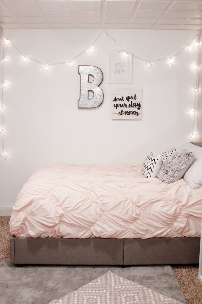 Wall lights teen decor
