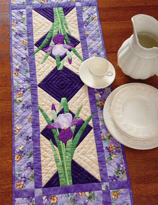 Pin On Flower Quilts