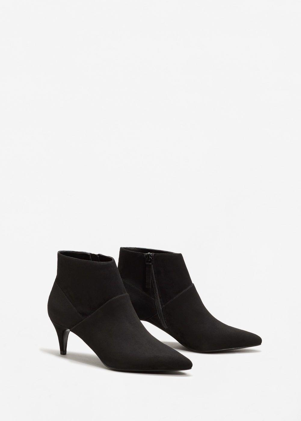 bcd1862fd41 Botín tacón kitten - Zapatos de Mujer en 2019