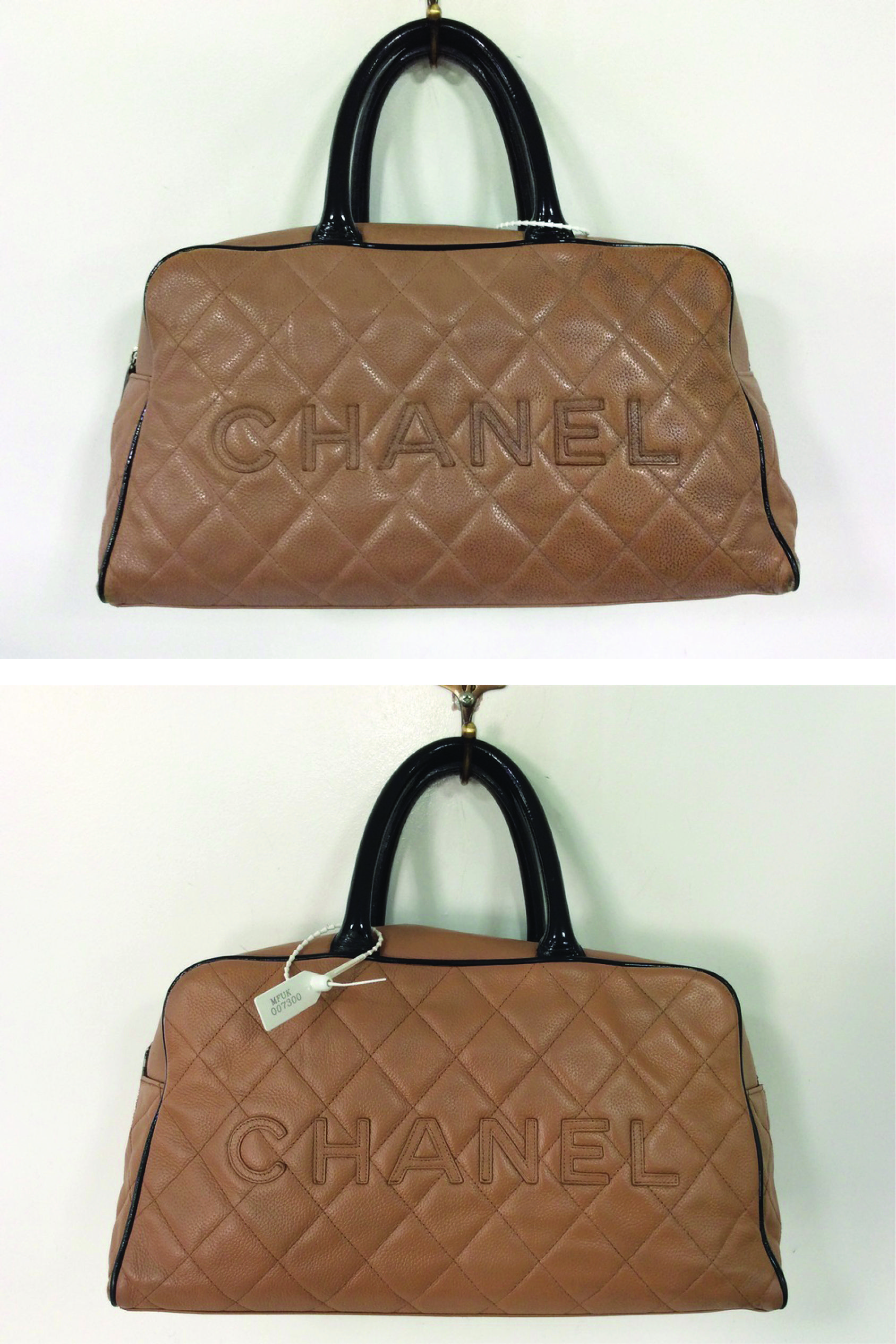45af189e85cb We carried out our Full Clean treatment to remove the surface dirt    refresh this Chanel bag