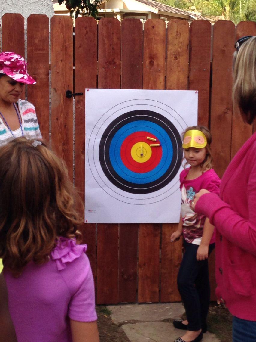 Pin the Bullet on the Target Birthday fun, Baseball
