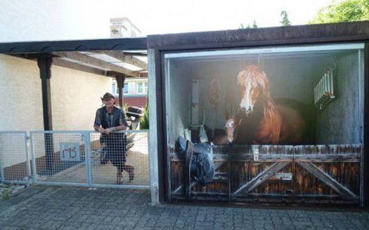 Horse Stable Garage Door Sticker Garage Door Paint Custom Garage Doors Garage Service Door
