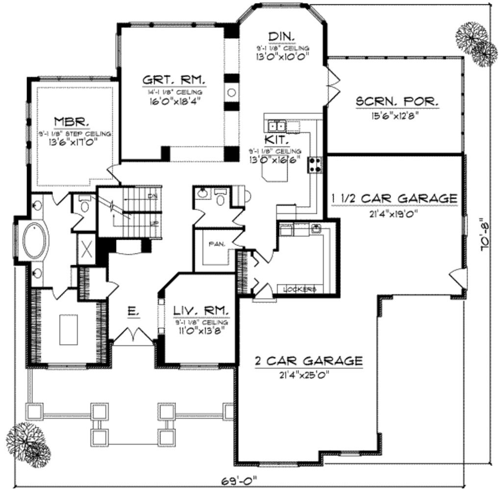 no formal dining room extend kitchen into garage favorite find this pin and more on favorite houseplans first floor plan of house