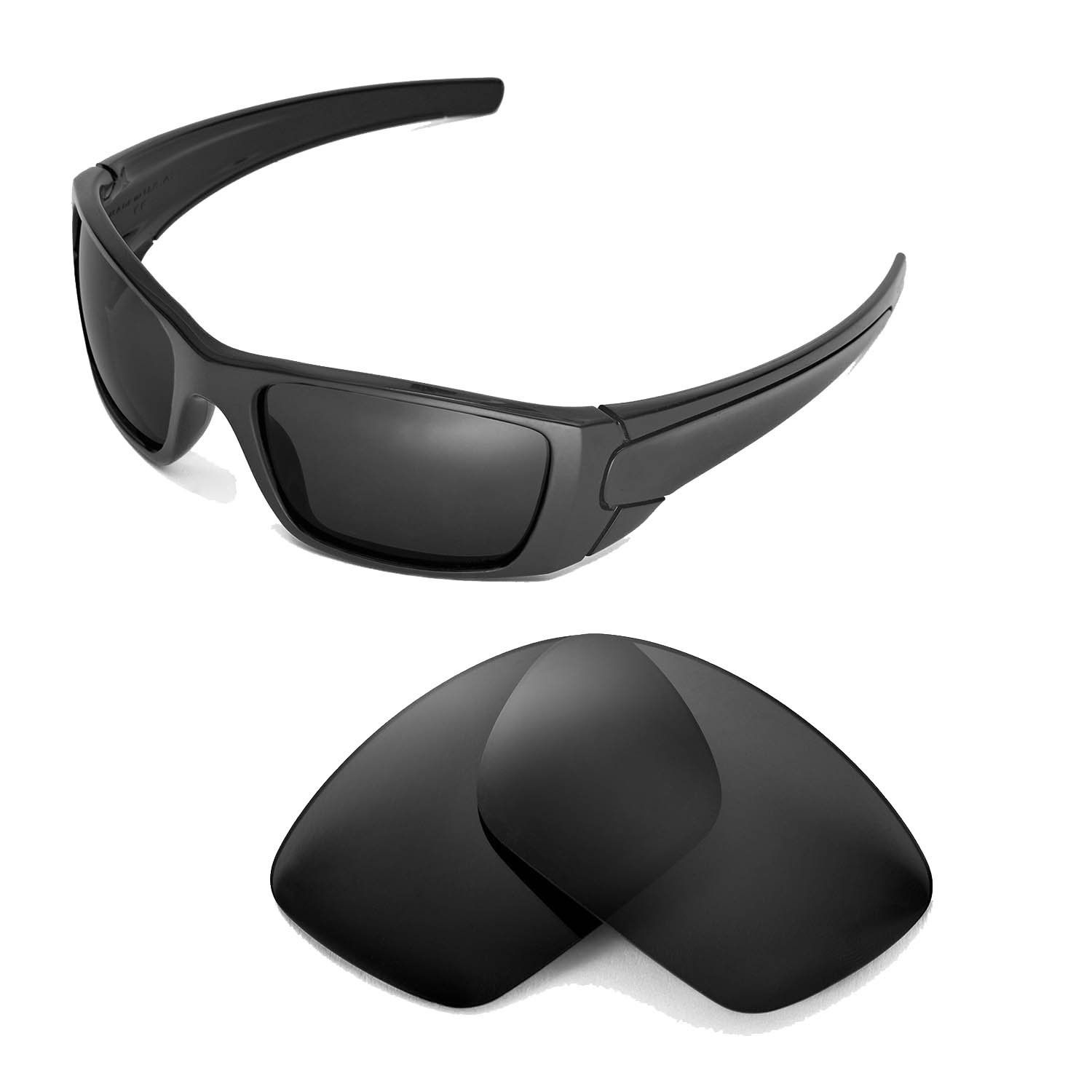 Lenses Replacement Oakley Sunglasses Walleva Black For Fuel Cell oeWrBEQCdx