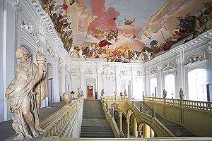 Wurzburg Residence Balthazar Neumann With Tiepolo Painted Ceiling Burg Wurzburg Burgen Und Schlosser