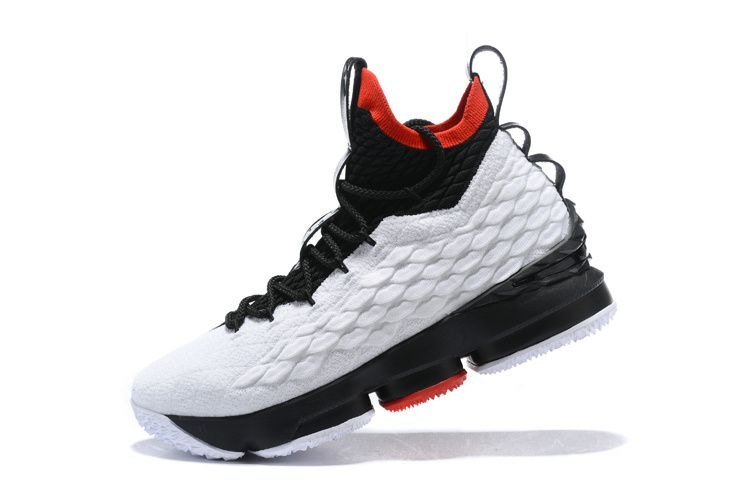 9b88c4dbc64 Genuine Nike LeBron 15 XV EP Diamond Turf PE 2018 Mens Basketball Sneakers White  Black Red