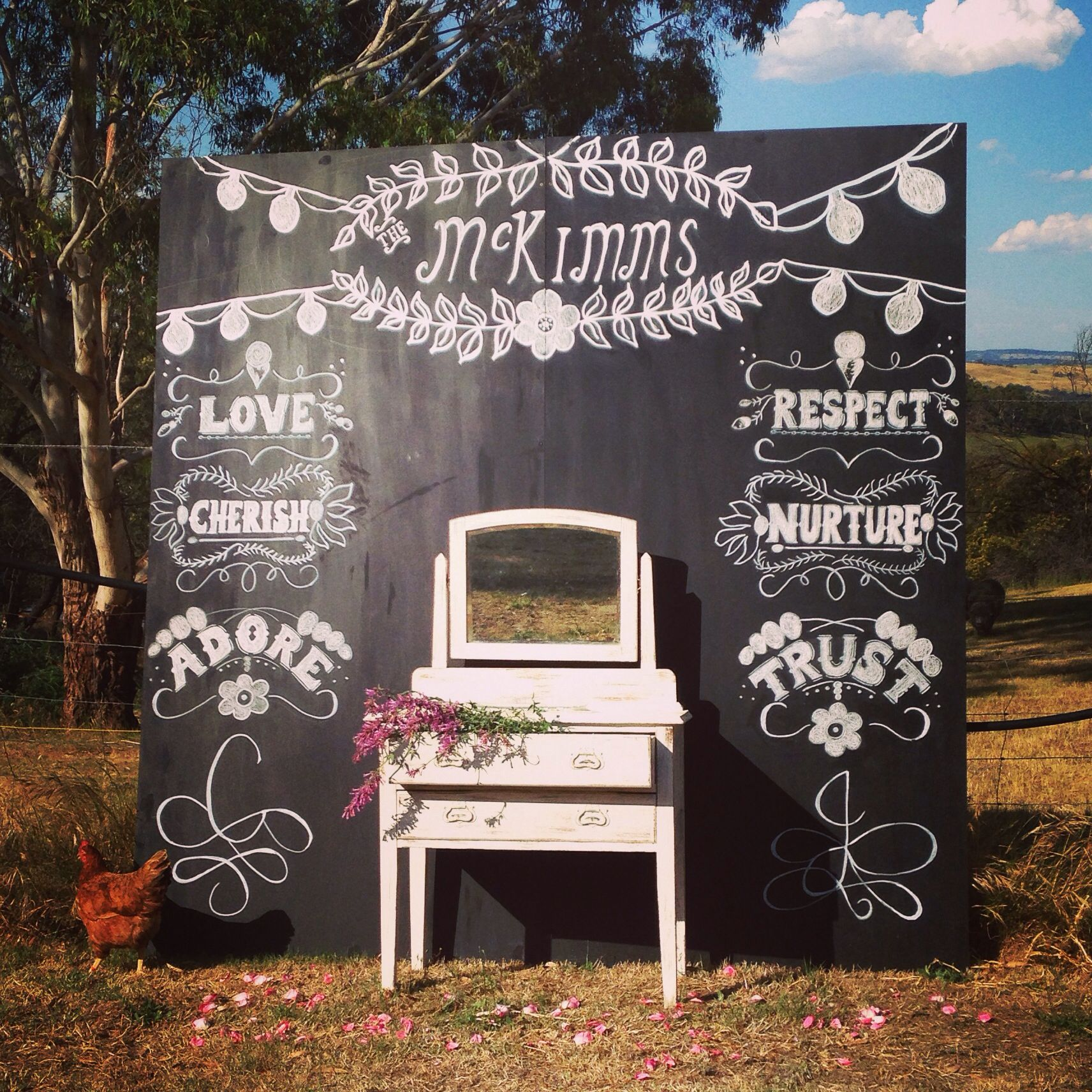 Wedding Chalkboard Ideas: Pin By Stevie McClane On Rehearsal