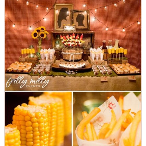 Summer Wedding Food: Summer BBQ. I Want This For My Wedding! PS I Did Not Write