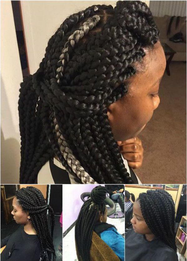 what kind of hair for box braids,what kind of hair to use ...
