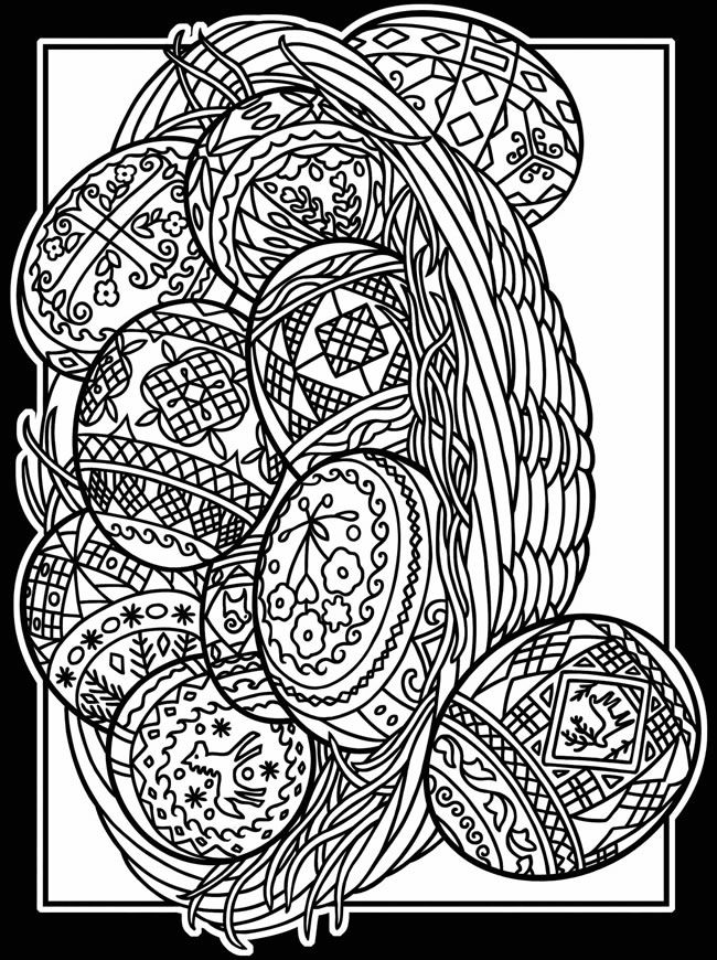 Welcome to Dover Publications Artful Eggs from Around the World ...