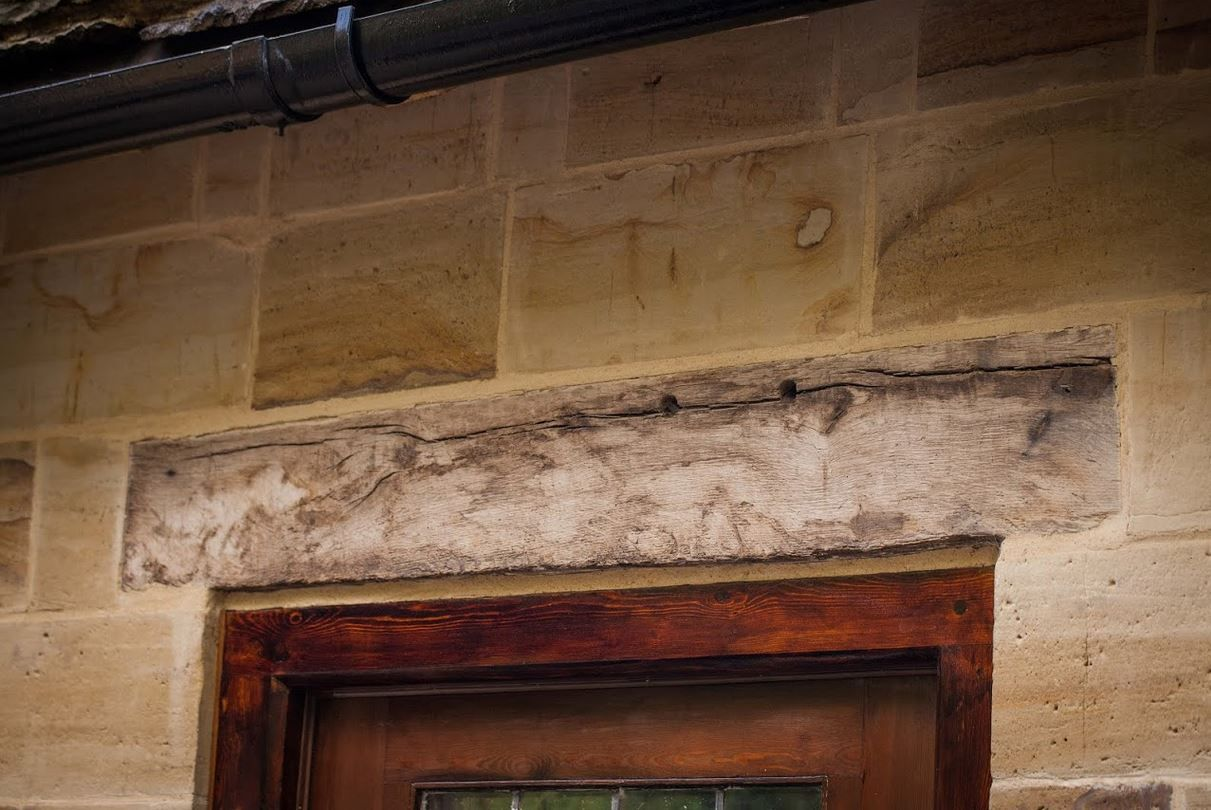 Stone and wood work compliment each other perfectly to add a contemporary touch to a traditional #Property