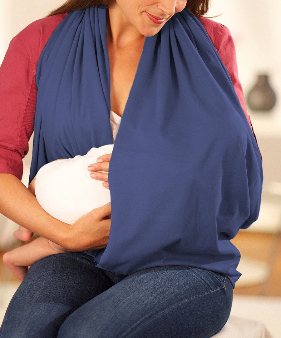 Look at this NüRoo Navy Nursing Scarf on #zulily today!